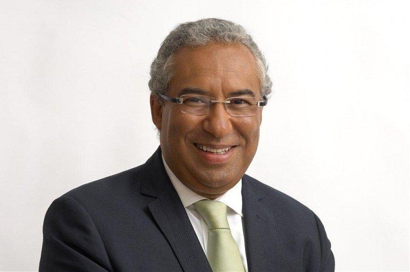 O 1º ministro António Costa