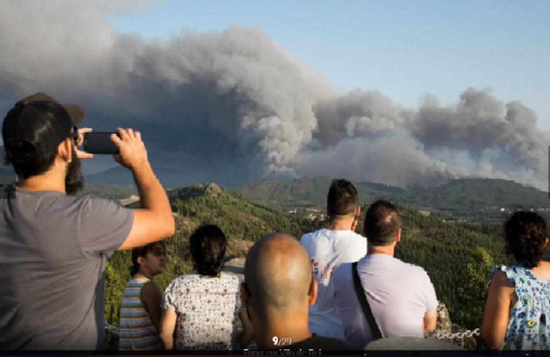Dois grandes fogos e mais de 1.000 operacionais no terreno — Incêndios