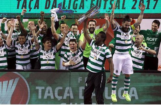 ... Diario Digital Castelo Branco Lusa. Sporting vence Fundão e revalida  título da Taça da Liga de Fusal 6b7c8e2232389