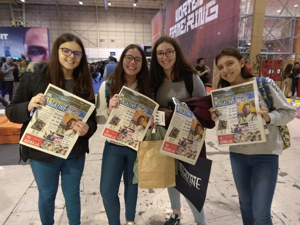 Ensino Magazine na Games Week