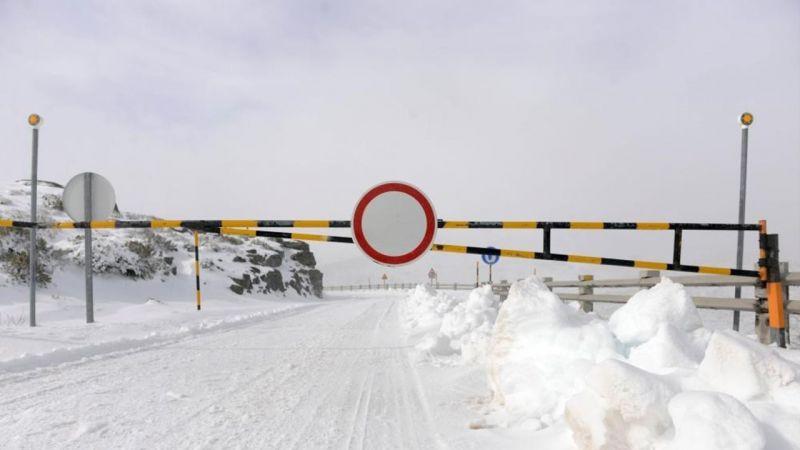 Mau Tempo: Estradas encerradas na serra da Estrela devido à queda de neve - Diário Digital Castelo Branco
