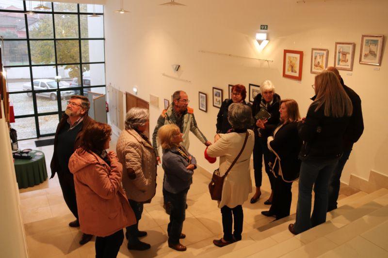 Proença-a-Nova: Auditório Municipal expõe pintura dos alunos da Universidade Sénior - Diário Digital Castelo Branco