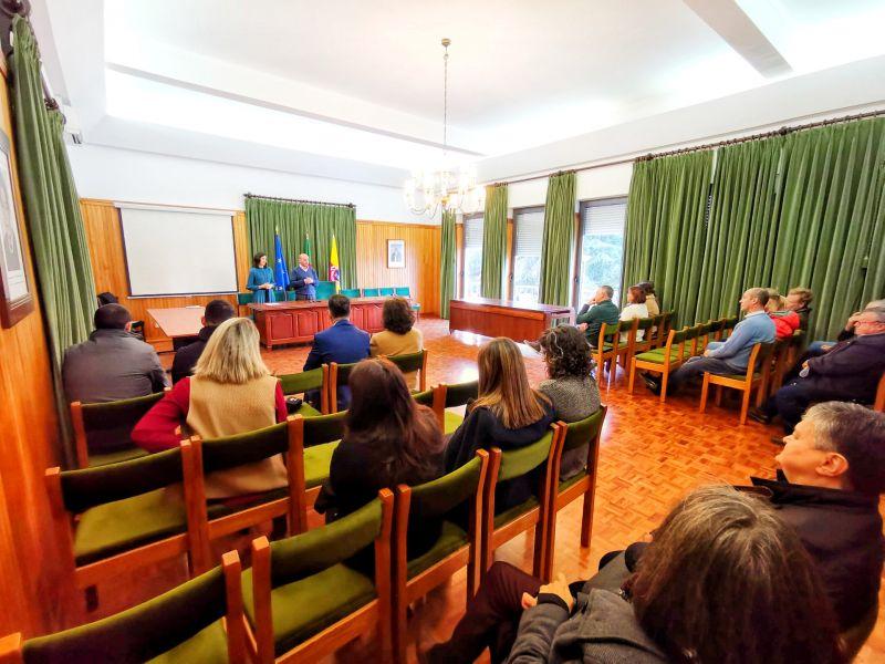 Incêndios: Comissão de Desenvolvimento Regional do Centro entregou quatro casas em Oleiros - Diário Digital Castelo Branco
